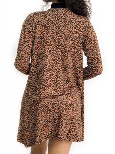 CARDIGAN ANIMAL PRINT MERIDA