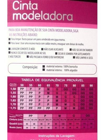 CINTA MODELADORA DE CINTURA