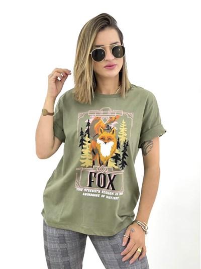 T-SHIRT FOX DZARM
